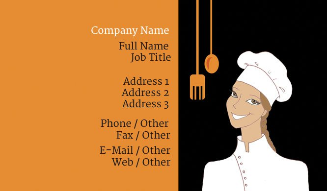 Chef2 Business Card